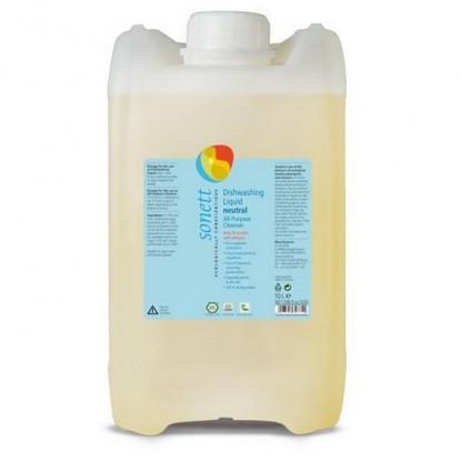 Detergent BIO pt vase Neutru (fara parfum) 10L Sonett