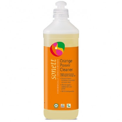 Detergent BIO universal concentrat cu ulei de portocale 500ml Sonett