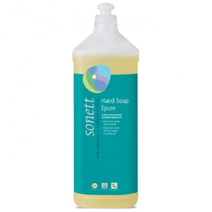 Sapun lichid - gel de dus BIO 7 esente Epure 1L Sonett