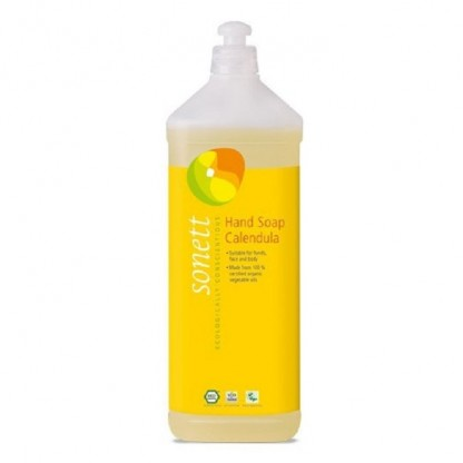 Sapun lichid - gel de dus BIO cu Galbenele 1 L Sonett