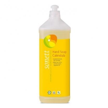 Sapun lichid - gel de dus ecologic Galbenele 1L Sonett