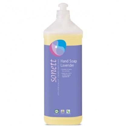 Sapun lichid - gel de dus BIO cu Lavanda 1L Sonett