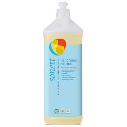 Sapun lichid - gel de dus BIO fara parfum Sensitive 1L Sonett