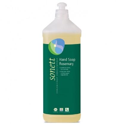 Sapun lichid - gel de dus ecologic Rozmarin 1L Sonett