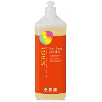 Sapun lichid - gel de dus ecologic spumant cu galbenele pt copii 1L Sonett