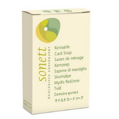 Sapun solid BIO neutru (fara parfum) 100g Sonett