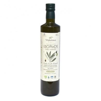 Ulei de masline extravirgin Liophos Early Harvest BIO 750ml Stamatakos Grecia