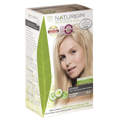 Vopsea naturala de par 10.0 Blond Platinat Naturigin 115ml