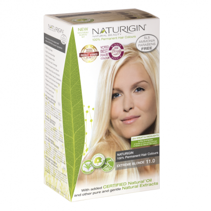 Vopsea naturala de par 11 Blond Extreme Naturigin 115ml