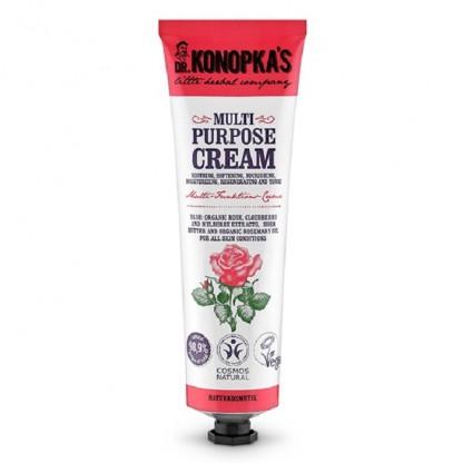 Crema hidratanta multifunctionala cu trandafir 75ml Dr Konopka