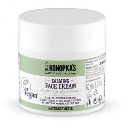 Crema de fata calmanta pentru ten normal sau gras 50ml Dr Konopka