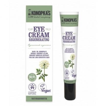 Crema contur ochi regeneranta pentru ten uscat sau sensibil 20ml Dr Konopka
