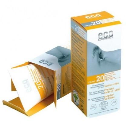 Crema BIO protectie solara FPS20 Eco Cosmetics 75ml