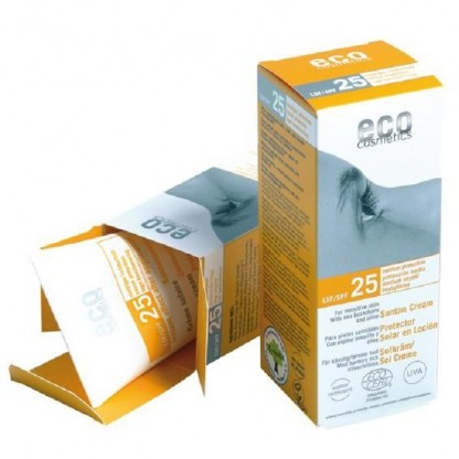 Crema BIO protectie solara FPS 25 Eco Cosmetics 75ml