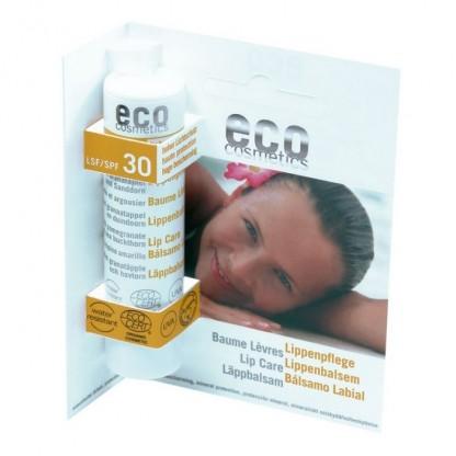 Balsam de buze BIO cu protectie solara inalta FPS 30 Eco Cosmetics 4 g