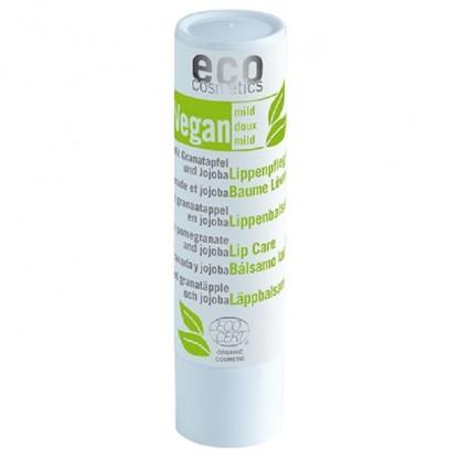 Balsam de buze bio VEGAN cu rodie si jojoba Eco Cosmetics 4g