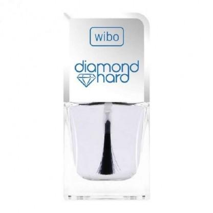 Lac intaritor pentru unghii cu praf de diamant Diamond Hard 8.5ml Wibo