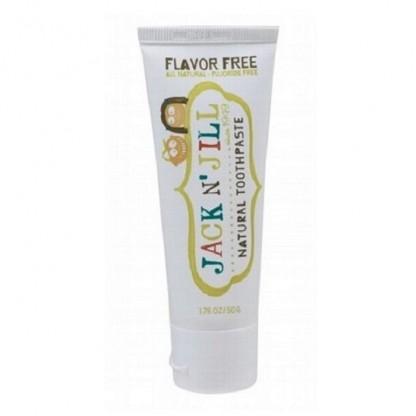 Pasta de dinti naturala pentru copii, fara aroma Jack n' Jill 50g