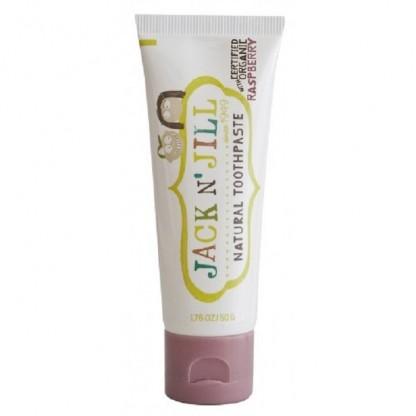Pasta de dinti naturala pentru copii, zmeura organica Jack n' Jill 50 g