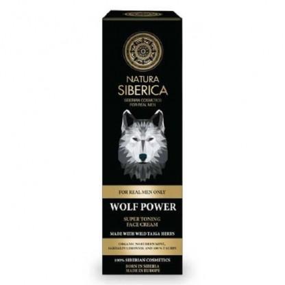 Crema de fata tonifianta pt barbati Wolf Power 50ml Natura Siberica