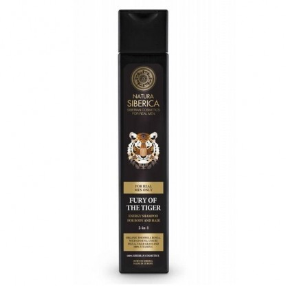 Sampon si gel de dus pentru barbati Fury of the Tiger 250ml Natura Siberica