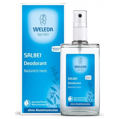 Deodorant natural spray cu salvie 100ml Weleda