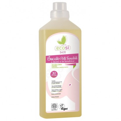 Detergent lichid ECO BIO pentru piele sensibila Ecosi Baby 1000ml