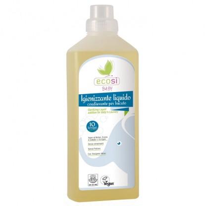 Inalbitor igienizant lichid Eco Bio pentru rufele bebelusului 1000ml Ecosi Baby