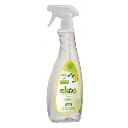 Solutie ECO pentru curatat geamuri, oglinzi si suprafete din plastic Ekos 750ml