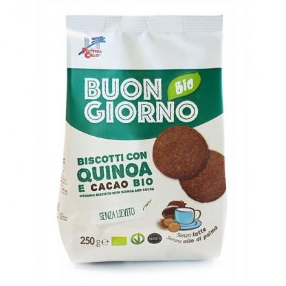 Biscuiti Buongiorno BIO quinoa si cacao Finestra sul Cielo 250g