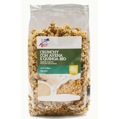 Musli crocant BIO cu fulgi de ovaz si quinoa 375g Finestra sul Cielo