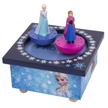 Cutie muzicala magnetica Frozen (Ana si Elsa)
