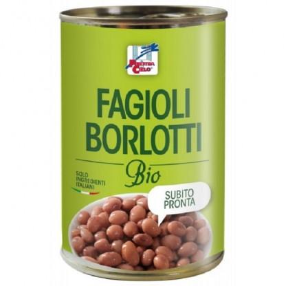 Fasole Borlotti BIO 400g Finestra sul Cielo