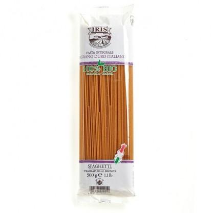Paste BIO Spaghete din grau dur integral 500g Iris BIO