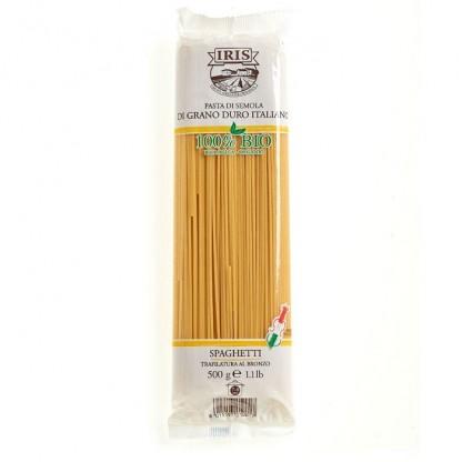 Paste BIO Spaghete din grau dur 500g Iris BIO