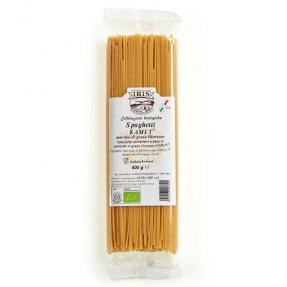 Paste BIO Spaghete din kamut integral BIO 500g Iris BIO