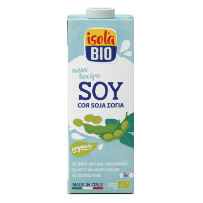 Bautura bio din soia Isola Bio 1L