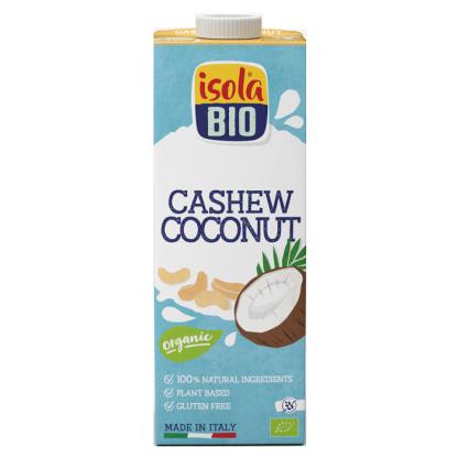 Bautura BIO din nuci caju si cocos Isola Bio 1L (fara gluten)