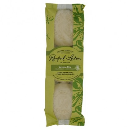 Pachet 3 sapunuri naturale verbina maslina 450g Rampal Latour