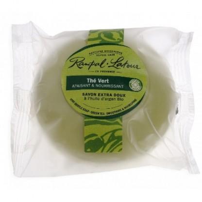 Sapun natural ceai verde argan 100g Rampal Latour
