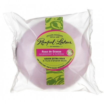 Sapun natural Trandafir de Grasse 100g Rampal Latour