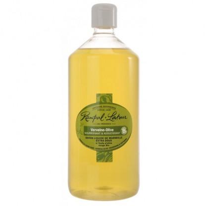 Sapun lichid de Marsilia verbina masline (maini si corp) 1000ml Rampal Latour