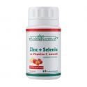 Zinc, seleniu si vitamina C naturala 90 capsule Health Nutrition