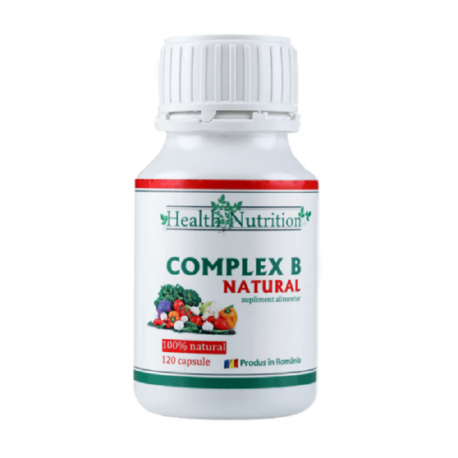 Complex natural VITAMINA B 120 capsule Health Nutrition