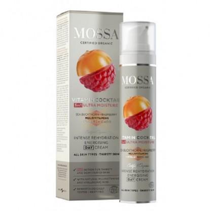 VITAMIN COCKTAIL Crema si masca de noapte pt toate tipurile de ten 50ml Mossa Organic