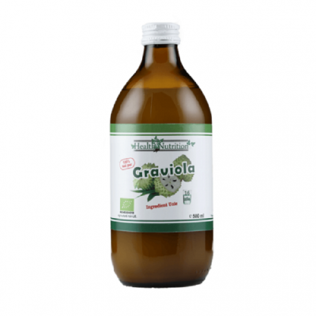 Graviola (Annona Muricata) Suc BIO 100% PUR 500ml Health Nutrition