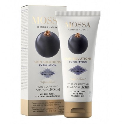 SKIN SOLUTIONS Scrub pentru curățarea porilor 60ml Mossa Organic