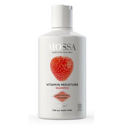 Sampon hidratant pt toate tipurile de păr 200ml Mossa Organic
