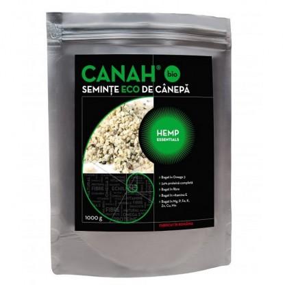 Seminte decorticatade canepa Eco 1kg Canah