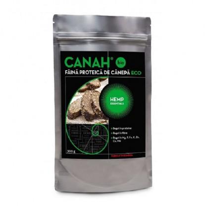 Pudra proteica de canepa ECO 300g Canah